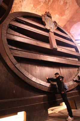 ハイデルベルク城にある世界最大のワイン樽