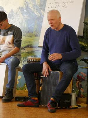 www.musikwerkstatt-silberstrasse.de - Cajonworkshop 2020 -