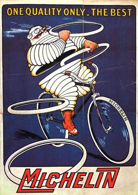 Een Engelse poster, in 1912 ontworpen door M.L. Roowy.