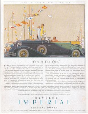 Advertentie Chrysler.