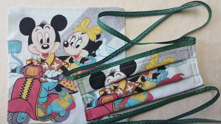 Maske: Motiv Goofie und Mickey Maus, Ausverkauft