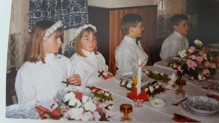 Bettina, Melanie, Oliver und Thorsten