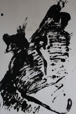 Le chat, 2007,  130 x 110 cm