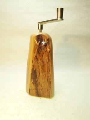 Muskatmühle / Muskatreibe  Unikat Design handarbeit Einzelstück Holz Zwetschge 16