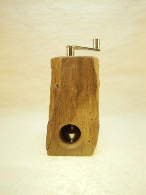 Muskatmühle / Muskatreibe  Unikat Design handarbeit Einzelstück Holz Eiche 20