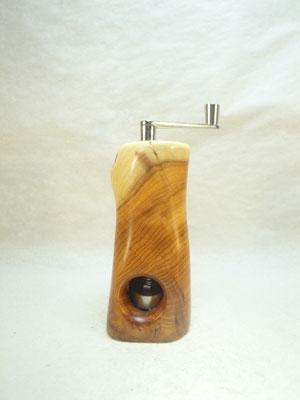 Muskatmühle / Muskatreibe  Unikat Design handarbeit Einzelstück Holz Eibe 15