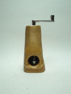 Muskatmühle / Muskatreibe  Unikat Design handarbeit Einzelstück Holz Olive