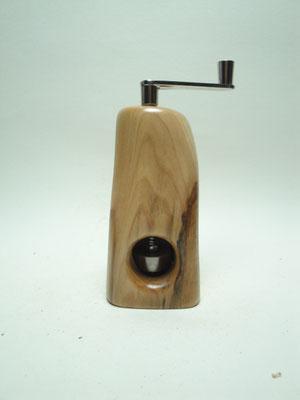 Muskatmühle / Muskatreibe  Unikat Design handarbeit Einzelstück Holz Quitte
