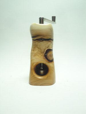Muskatmühle / Muskatreibe  Unikat Design handarbeit Einzelstück Holz Eibe