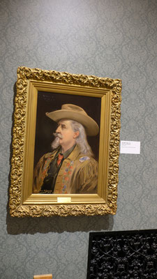 Buffalo Bill hängt an allen Wänden...