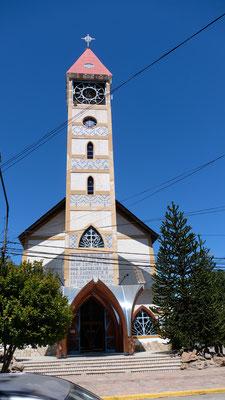 Die Kirche von Junin de los Andes