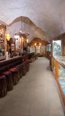 Die Bar, an der sich die Westernhelden nach dem Set entspannten