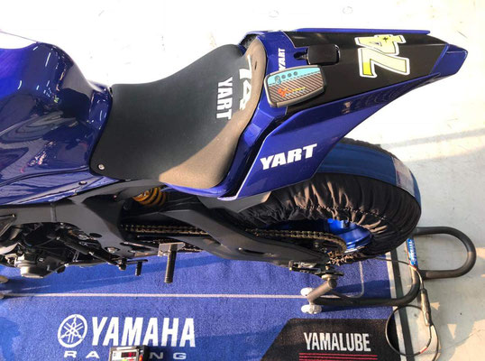 RaceAnalyse mit Yamaha Yart Tteam