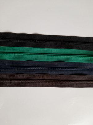 nicht teilbar - 50 cm - schwarz, grün, blau, braun
