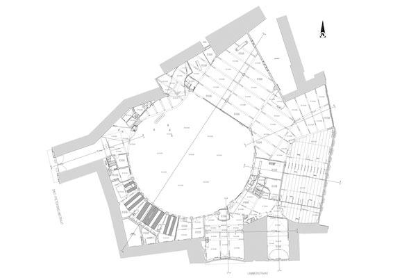 Grondplan - Wintercircus te Gent