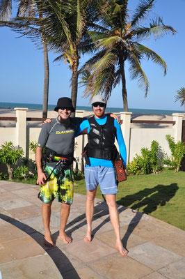 Die zwei Safari Kiter
