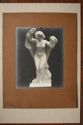 Firmin Michelet Photographie signée, datée, et dédicacée L'emoi Ajaccio