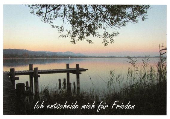 Ich entscheide mich für Frieden ©hristinaBecker
