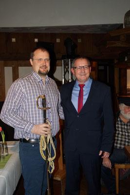 Ralf Wilberding wird einstimmig zum neuen Regimentskommandeur des Schützenverein Steinfeld gewählt