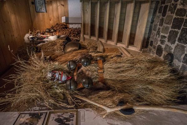 Sylvesterkläuse im Appenzeller Brauchtumsmuseum, Urnäsch