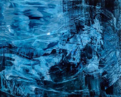 EUPHORIE IV Acrylic on Canvas 80x100cm 2019