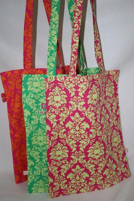 -einfache- Tasche - pink/grün & orange/pink NOCH ZU HABEN