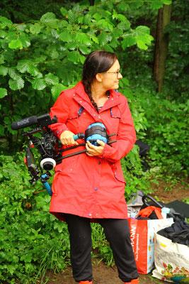 Berühmte Kamera Assistentin im Zschonergrund
