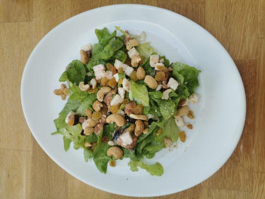 Salade Feta et figues fraîches de Mitroglute