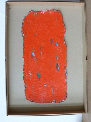 UE 110, ohne Jahr, Öl/Bütten,  30 x 41,8cm