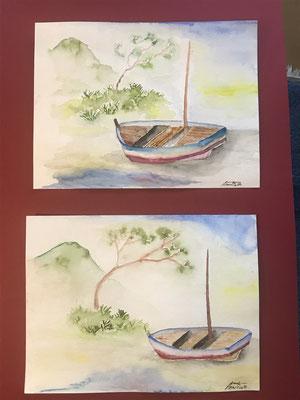 bateau de pêche double