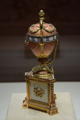 Ei im Fabergemuseum