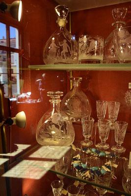 Glaskunst Souvenirladen Jussupow Palast