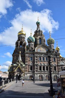 Blutskirche in Sankt Petersburg
