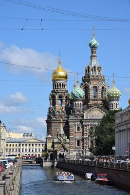 Auferstehungskirche in Sankt Petersburg