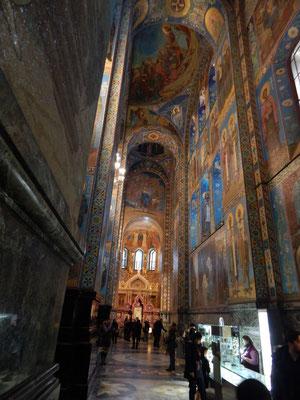 Blutskirche aus Mosaiken