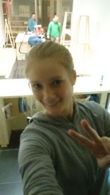 Erstes Store Selfie :)