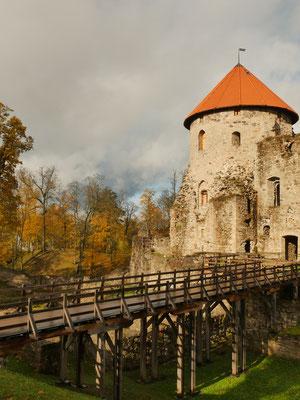 Auch für Burgen-Fans ist Lettland die richtige Wahl!