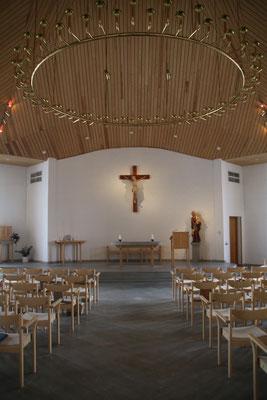 Katholische Kirche des Klosters. Foto: Frederike Brückner