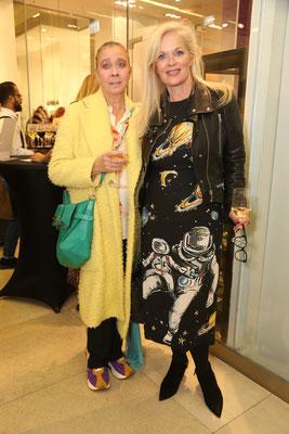 Margareta Olschewski und Anke Degenhardt