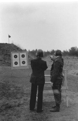 Schietoefening pistool
