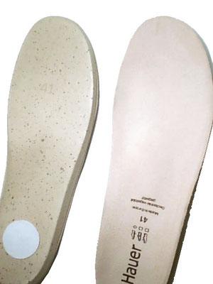 Hauer Leder Fußbett Einlage * Beratung und Tipps zu diesem Produkt erhalten Sie im Geschäft