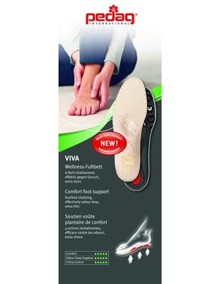 Leder Fußbett Einlage * Beratung und Tipps zu diesem Produkt erhalten Sie im Geschäft