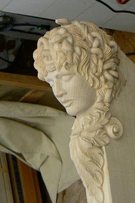 medusa head for a harp - violworks