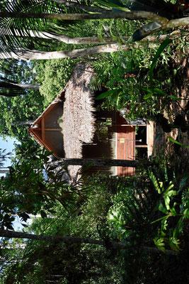 Die Lodge hat mehrere wunderschön gelegene Cabanas.