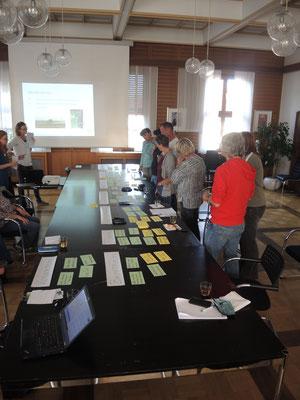 Kriteriendiskussion in Rheinstetten