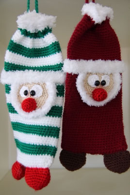 Weihnachts-Kamin-Socke, 20 CHF jedes