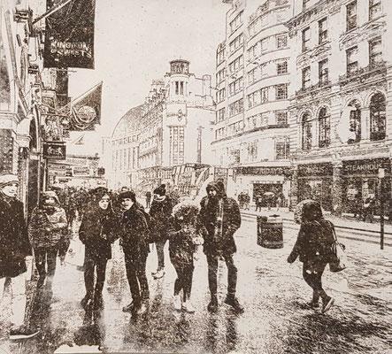 London im Schnee