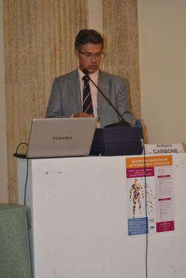 Dr. Antonio Carbone, U.O. Neurologia - Riabilitazione,'A.O. Panico' di Tricase. Miastenia e CIDP: trattamento farmacologico ottimale.