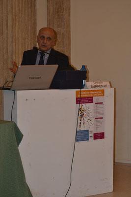 Dr. Corrado Surrente, U.O. Chirurgia Toracica 'Vito Fazzi' di Lecce. Indicazioni chirurgiche in corso di Miastenia.