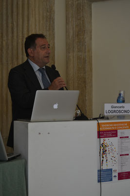 Prof. Giancarlo Logroscino, Università degli Studi di Bari. Le Miastenie Autoimmuni: dai meccanismmi patogenetici all'epidemiologia.